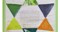 The Glass Ketubah