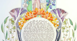The Painted Ketubah